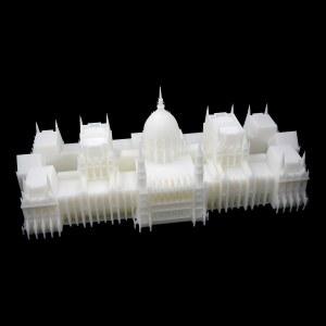 光固化3D打印建筑模型 23cm